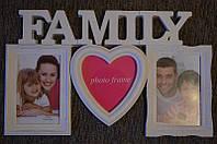 Фотоколаж FAMILY (3 фото)