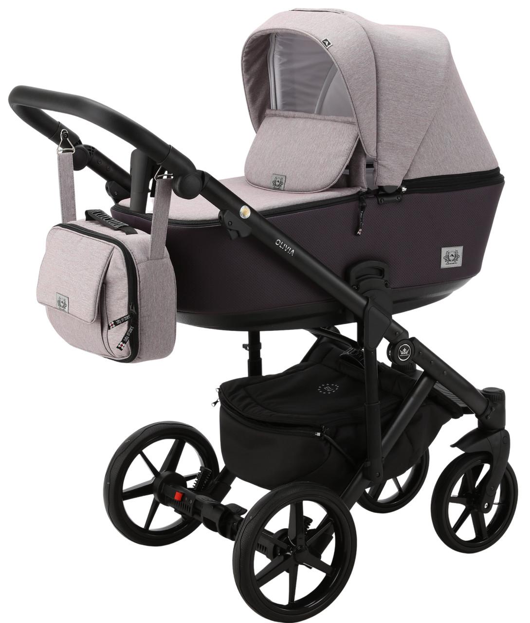 Детская универсальная коляска 2 в 1 Adamex Olivia PS-13