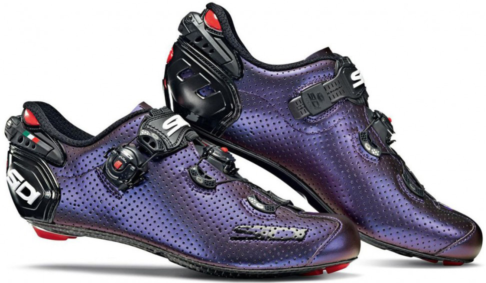 Велотуфли Шоссе Sidi Wire 2 Carbon Air LIMITED Blue - Red Iridescent