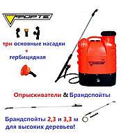 Аккумуляторный опрыскиватель FORTE CL-16A! Проверенное качество!, фото 1