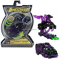 Машинка-трансформер игровой набор Screechers Wild Дикие Скричеры S2 L1 Найтвижн (EU683129)