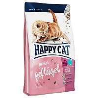 Корм сухой Happy Cat 10 кг Junior Geflugel сухий корм для котенят, КОД: 2399981