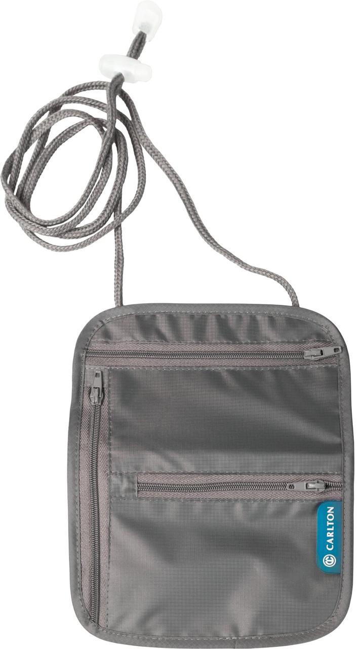Гаманець для документів та грошей Carlton Travel Accessories NCKPCHGRY;02 сірий