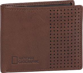 Портмоне шкіряне National Geographic N147501;33 коричневий, фото 2