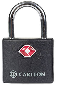 Навісний замок з системою TSA Carlton Travel Accessories 05992797X;01 чорний