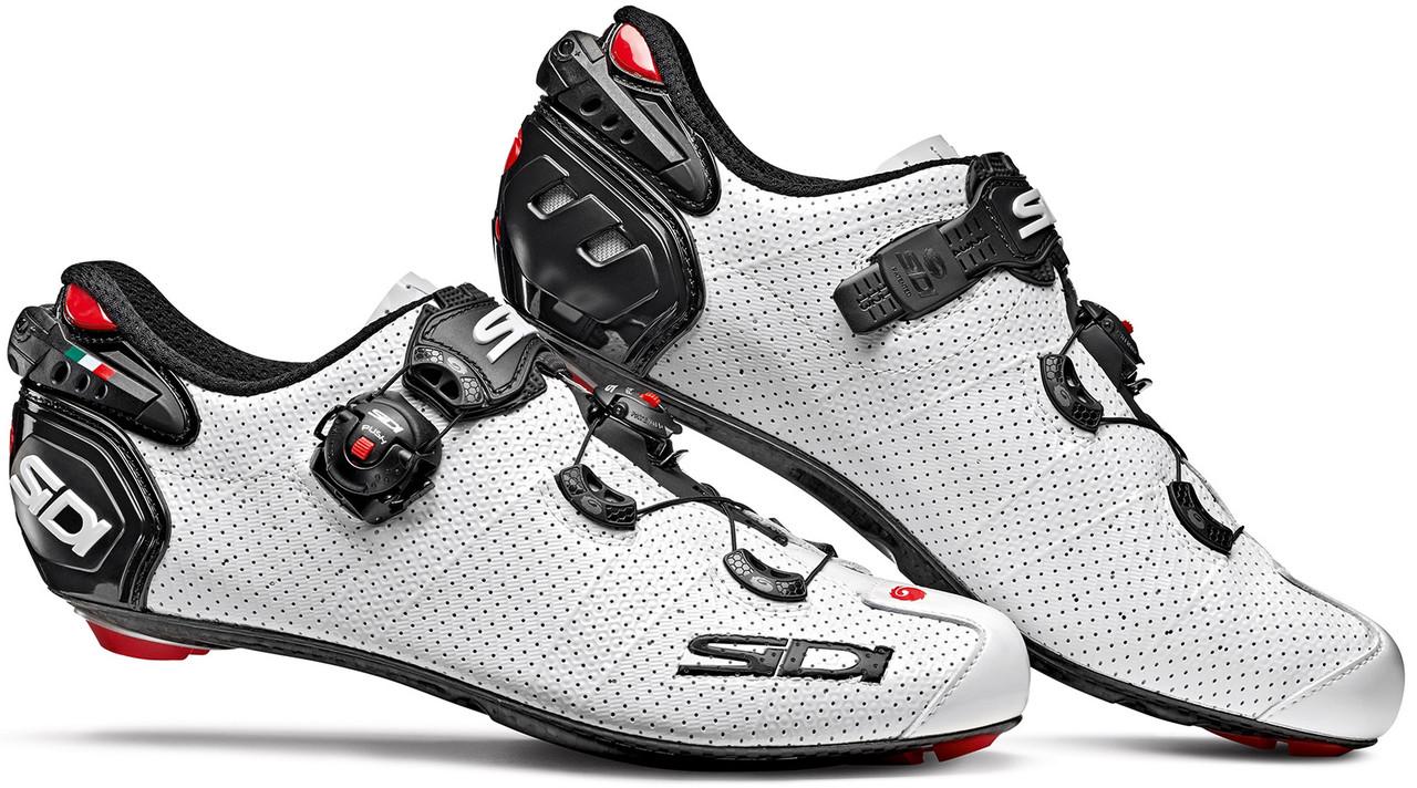 Велотуфли Шоссе Sidi Wire 2 Carbon Air White - Black