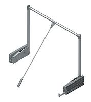 S - 6013, лифт пантограф, на 10кг 850-1150х140х900мм, серый/хром