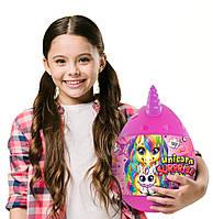 """Мягкая игрушка сюрприз в яйце """"Unicorn Surprise Box"""" 25 сюрпризов внутри, высота 31 см, USB-01-01U(V)"""