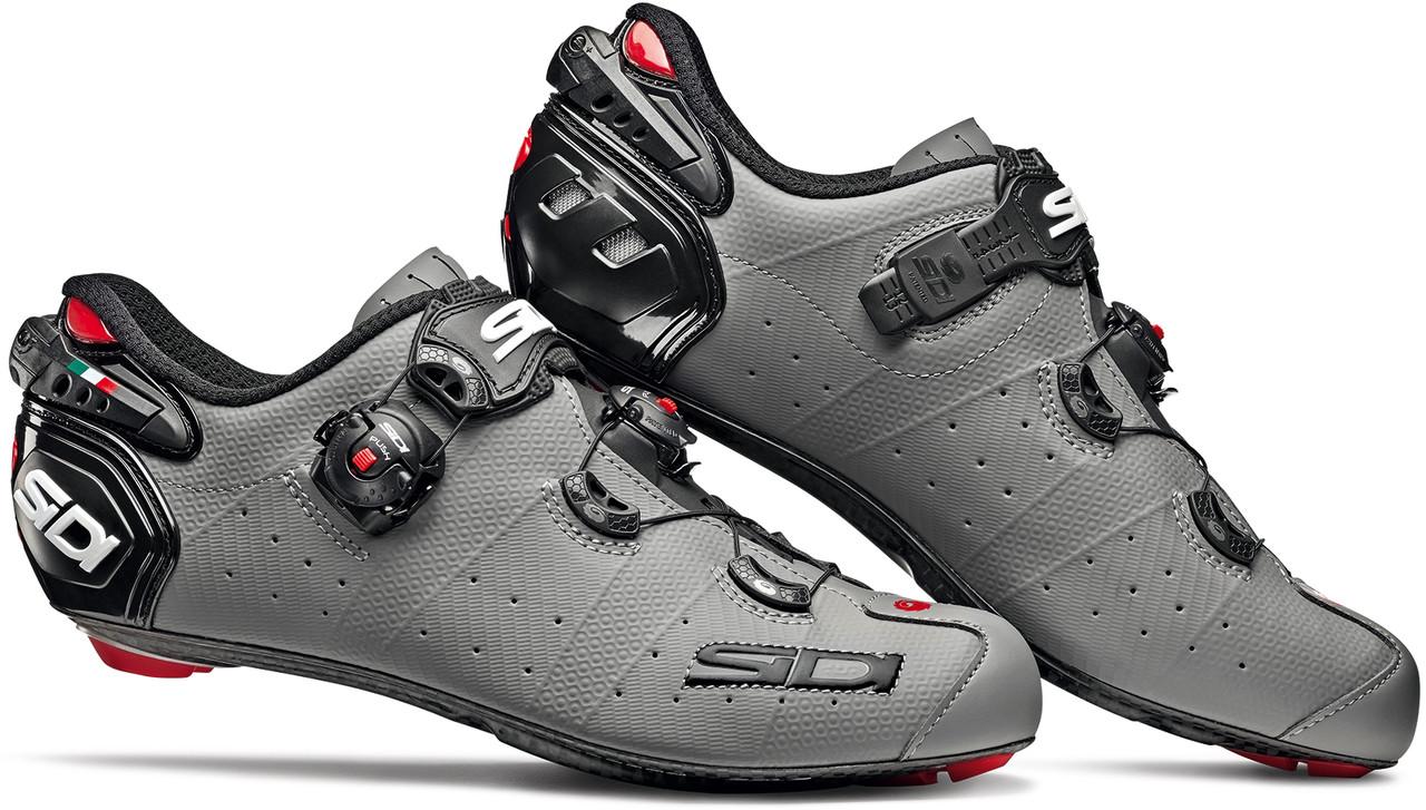 Велотуфли Шоссе Sidi Wire 2 Carbon Grey - Black
