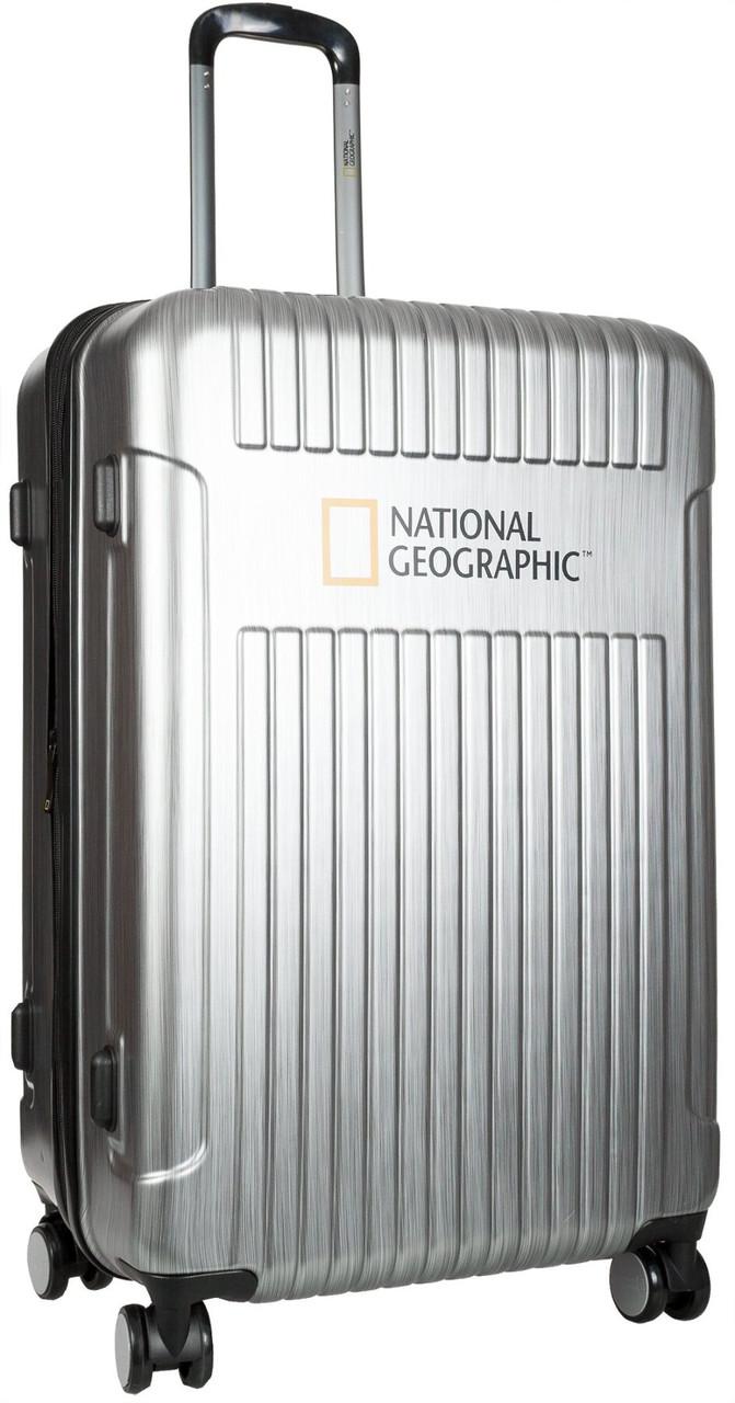 Валіза National Geographic Transit N115HA.71;23 сріблястий