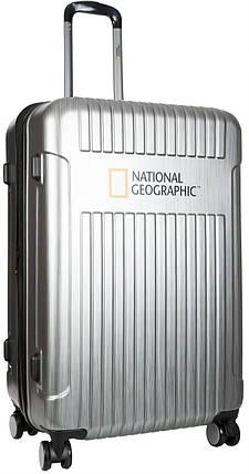 Валіза National Geographic Transit N115HA.71;23 сріблястий, фото 2