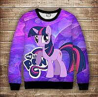 Світшот p принтом Іскорка My little pony Twilight, фото 1