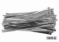 Хомут металевий універсальний 8х500 (упаковка 50 шт) YATO