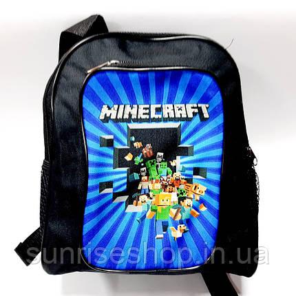 Рюкзак детский для мальчика Minekraft, фото 2