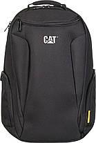 Рюкзак з відділенням для ноутбука CAT Bizz Tools 83482;01 чорний, фото 2