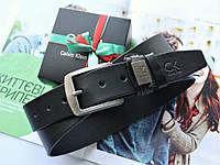 Мужской классический ремень Calvin Klein черный