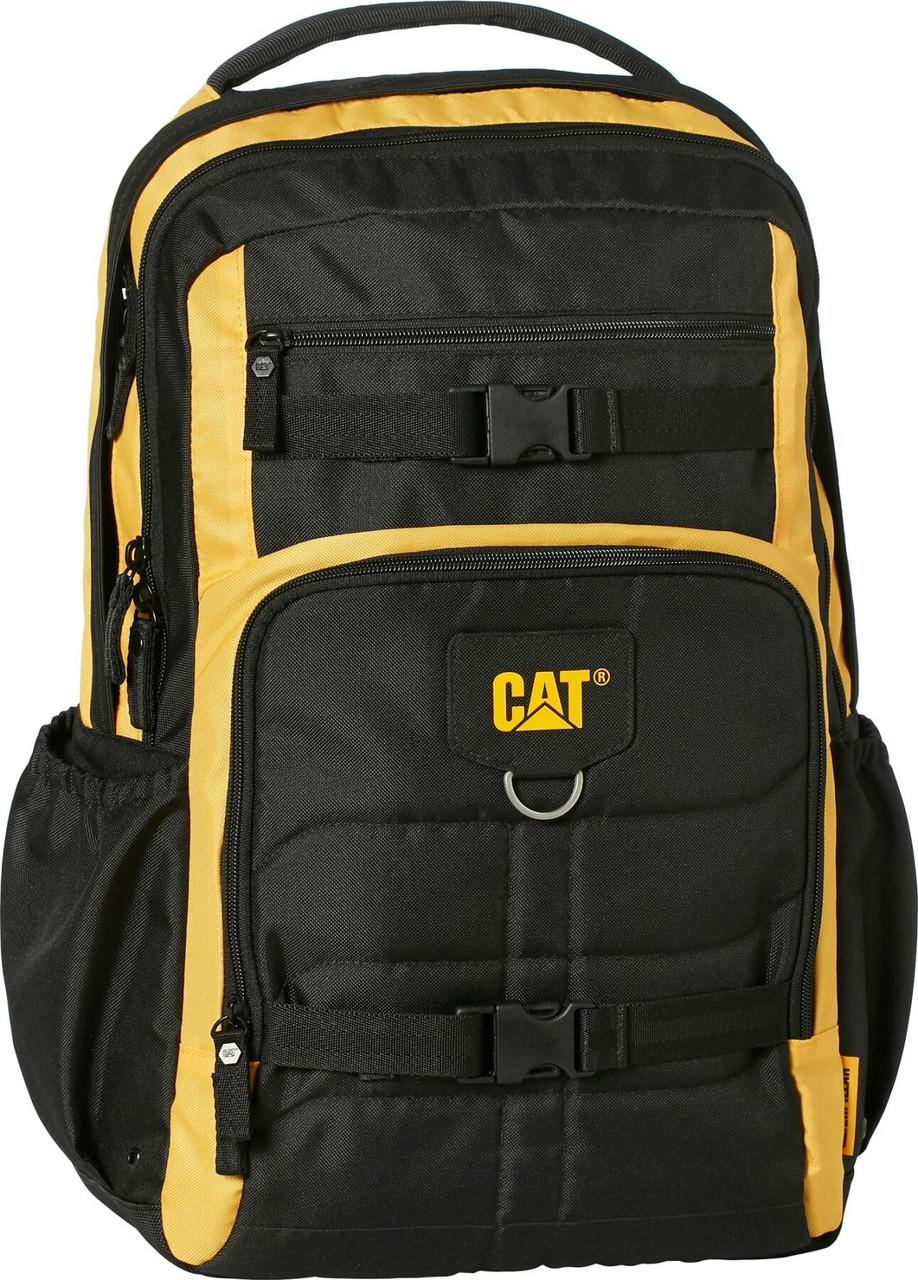 Рюкзак повсякденний з відділенням для ноутбука CAT Millennial Classic 83605;12 чорний/жовтий