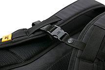 Рюкзак повсякденний з відділенням для ноутбука CAT Millennial Classic 83605;12 чорний/жовтий, фото 3