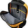 Рюкзак повсякденний з відділенням для ноутбука CAT Millennial Classic 83605;12 чорний/жовтий, фото 4