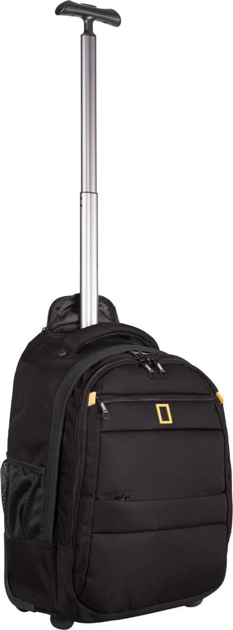Рюкзак на колесах National Geographic Passage N15402;06 чорний
