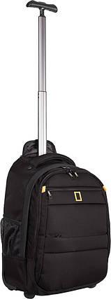 Рюкзак на колесах National Geographic Passage N15402;06 чорний, фото 2