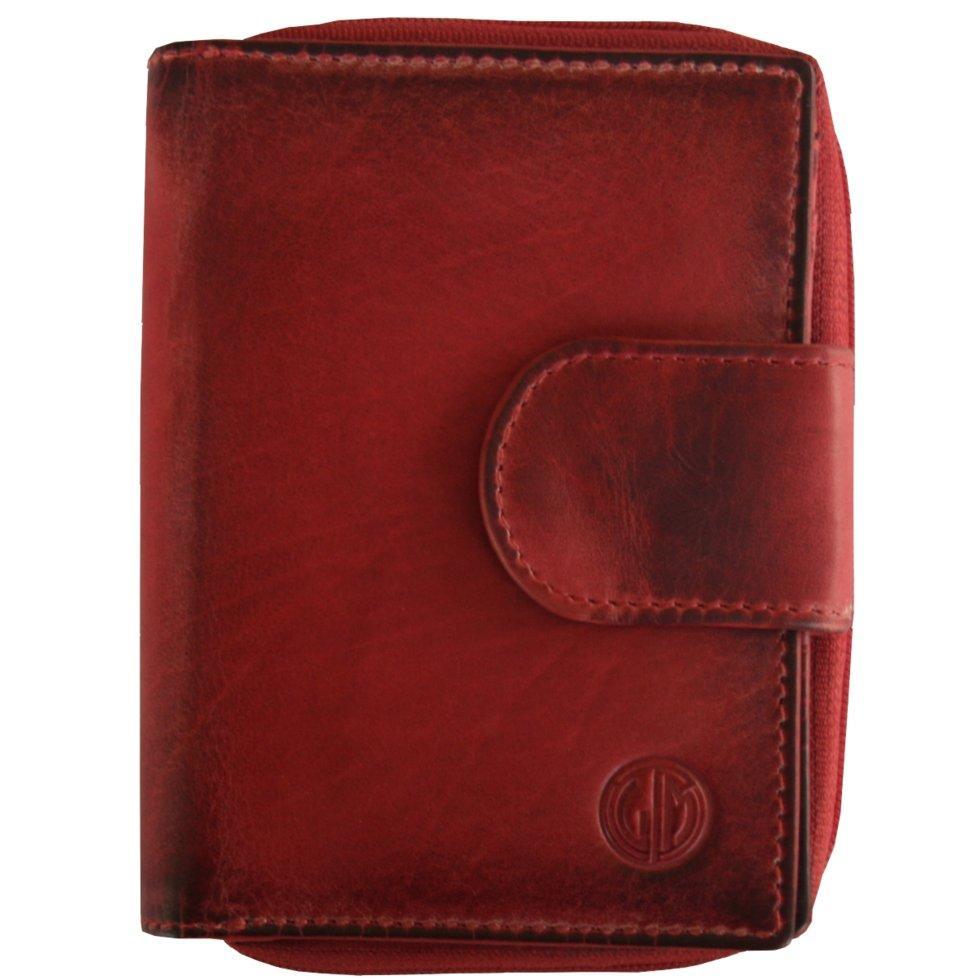 Женский кошелек Lindenmann 91102 Красный (1158)