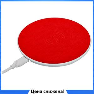 Беспроводная зарядка Hoco CW14 Красная