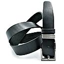 Кожаный ремень Le-Mon 110-125 см Черный (nw-rus-35k-005  ), фото 2