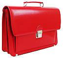 Женский портфель из искусственной кожи AMO Красный (SST09 red), фото 2