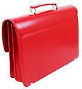 Женский портфель из искусственной кожи AMO Красный (SST09 red), фото 4