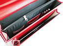 Женский портфель из искусственной кожи AMO Красный (SST09 red), фото 7