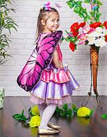"""Детский карнавальный костюм """"бабочка"""" (фея)"""
