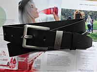 Мужской кожаный ремень Paul Smith черный