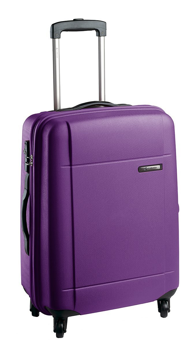 Чемодан CARLTON Titanium DLX 214J453;74 фиолетовый