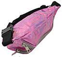 Сумка на пояс из искусственной кожи Loren Розовый (SS113 pink), фото 6