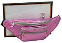 Сумка на пояс из искусственной кожи Loren Розовый (SS113 pink), фото 7
