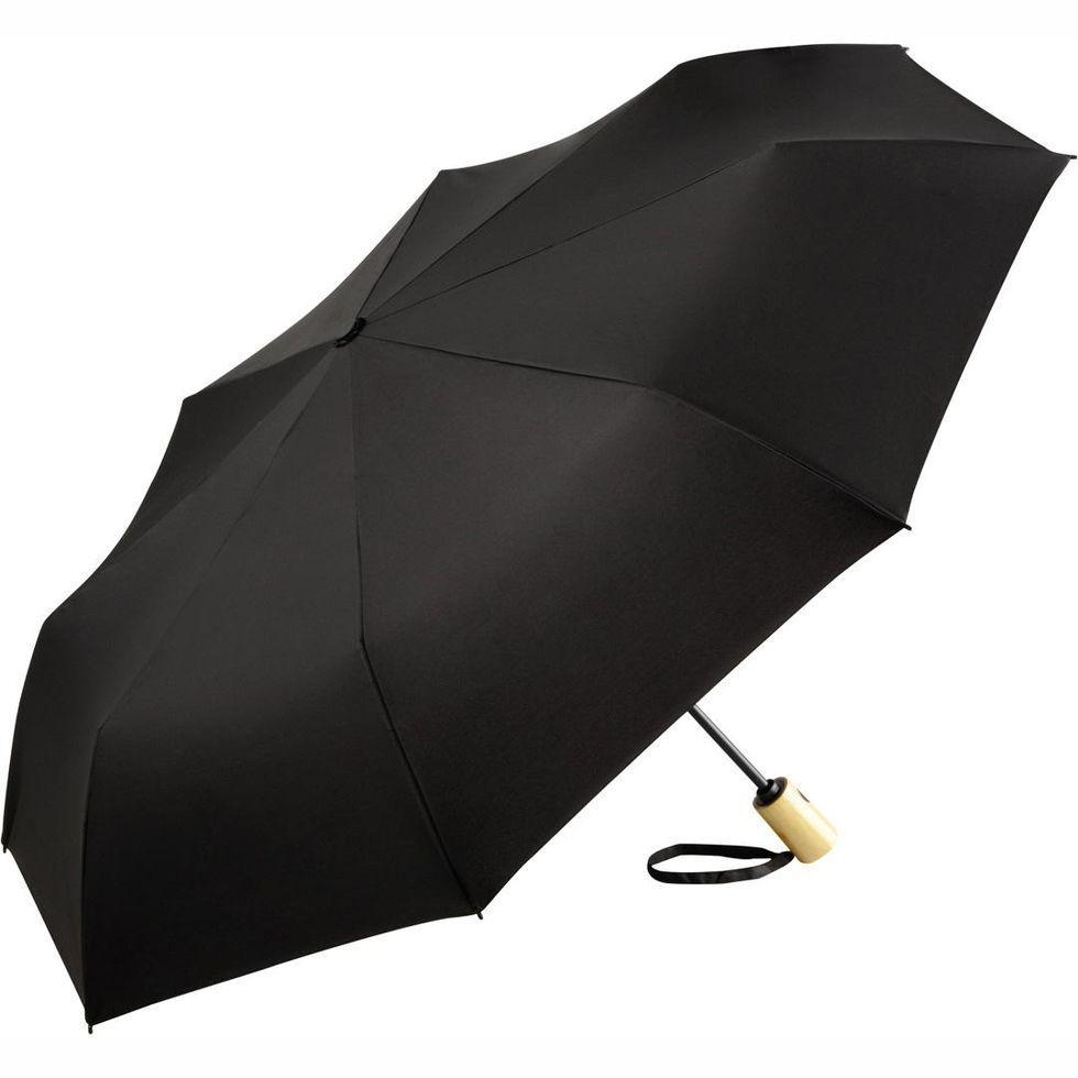 Зонт складаний Fare 5429 ЕКО Чорний (298)