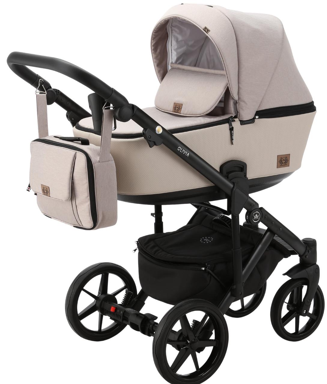 Детская универсальная коляска 2 в 1 Adamex Olivia PS-27