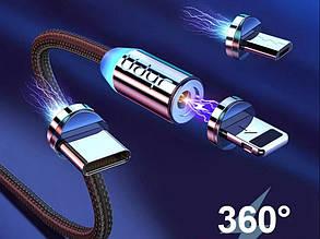 Магнитный кабель для зарядки мобильных устройств 1 м. Micro USB