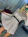 Короткий розкльошені сукні голограма з переливом (р. S, М) 71031866, фото 4