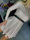 Короткий розкльошені сукні голограма з переливом (р. S, М) 71031866, фото 6