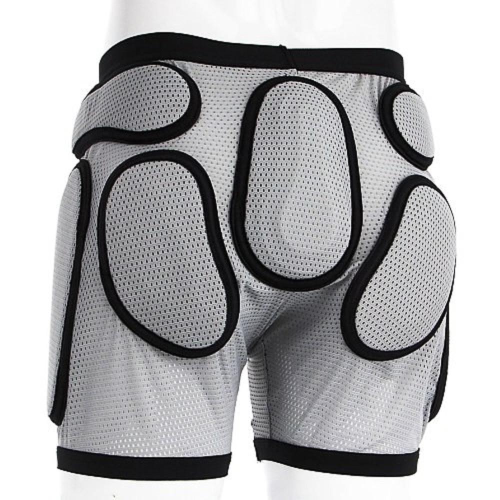 Защитные детские шорты для роликов Sport Gear Recruit gray