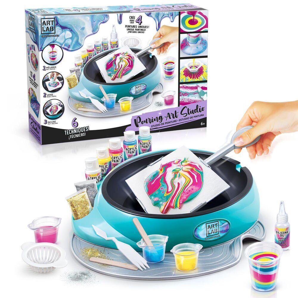 Игрушечный набор для творчества Canal Toys Art Lab  Фабрика Флюид-арт  ART001