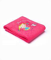 Плед Sensillo 2-STR с вышивкой Kids 75*100 S-23061 raspberry, фото 1