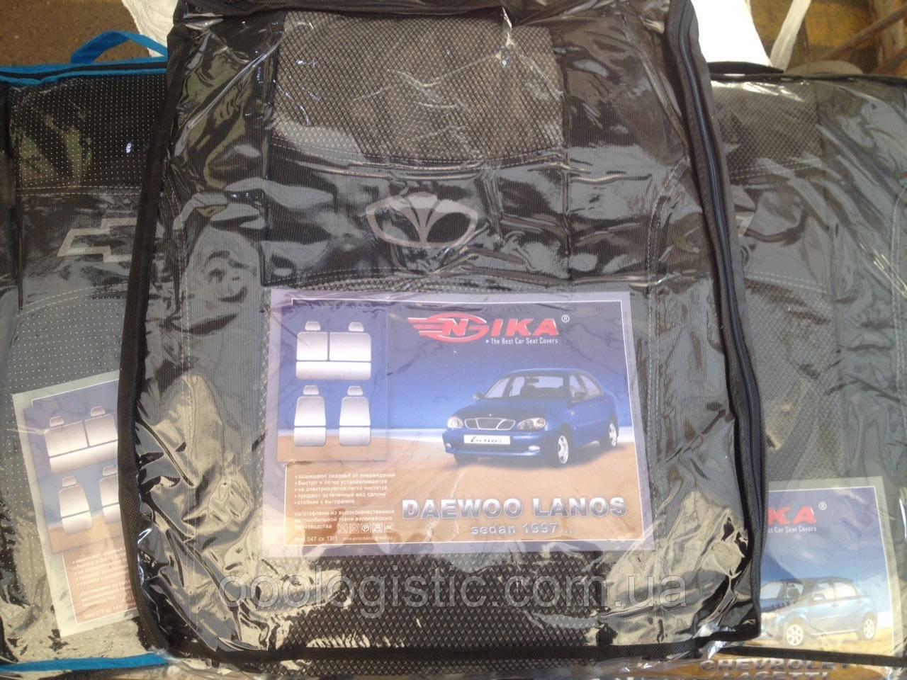 Авточехлы Ника на DAEWOO LANOS  седан от 1997 года седан от Ника