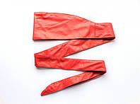 Женский пояс кушак красный