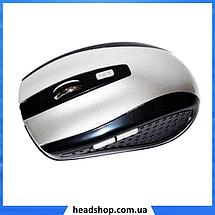 Беспроводная мышка G-109 - компьютерная мышь оптическая Серая, фото 3
