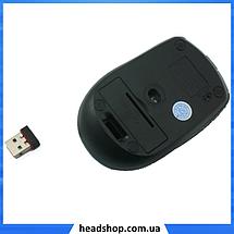 Беспроводная мышка G-109 - компьютерная мышь оптическая Серая, фото 2