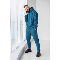 Мужской спортивный теплый костюм