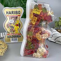 Ассорти жевательных мишек в упаковке в виде мишки Харибо Haribo Goldbären 450 г